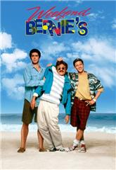 Weekend at Bernie's (1989) bluray Poster