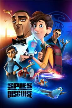 Spies in Disguise (2019) 4K Poster