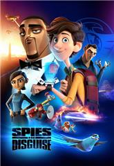 Spies in Disguise (2019) bluray Poster