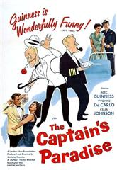 The Captain's Paradise (1953) bluray Poster