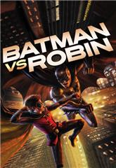 Batman vs. Robin (2015) bluray Poster