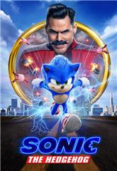 Sonic the Hedgehog (2020) bluray Poster