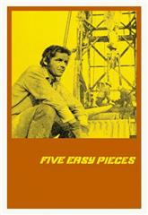 Five Easy Pieces (1970) bluray Poster