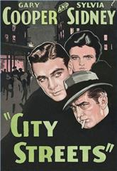 City Streets (1931) bluray Poster