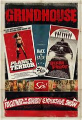 Grindhouse (2007) bluray Poster