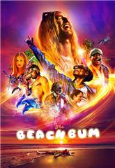 The Beach Bum (2019) bluray Poster