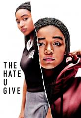The Hate U Give (2018) bluray Poster