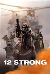 12 Strong (2018) bluray Poster