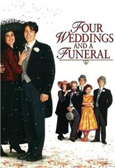 Four Weddings and a Funeral (1994) 1080p bluray Poster