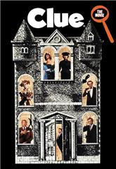 Clue (1985) bluray Poster