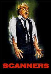 Scanners (1981) bluray Poster