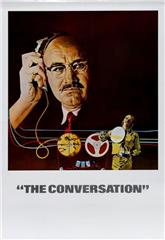 The Conversation (1974) bluray Poster