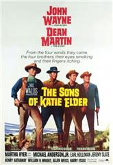 The Sons of Katie Elder (1965) bluray Poster