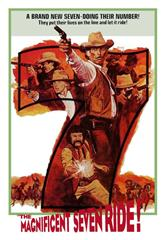 The Magnificent Seven Ride! (1972) bluray Poster
