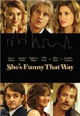 She's Funny That Way (2014) bluray Poster