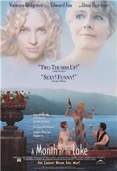 A Month by the Lake (1995) 1080p Poster