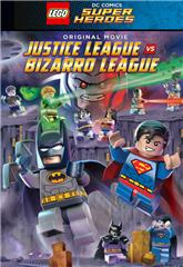 Lego DC Comics Super Heroes: Justice League vs. Bizarro League (2015) bluray Poster