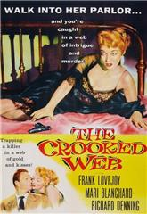 The Crooked Web (1955) 1080p bluray Poster