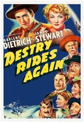 Destry Rides Again (1939) 1080p bluray Poster