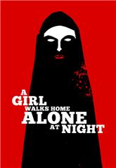 A Girl Walks Home Alone at Night (2014) 1080p Poster