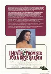 I Never Promised You a Rose Garden (1977) Poster
