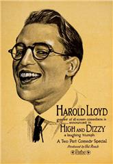 High and Dizzy (1920) Poster