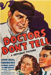 Doctors Don't Tell (1941) Poster