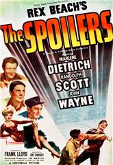 The Spoilers (1942) bluray Poster