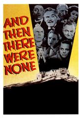 And Then There Were None (1945) bluray Poster