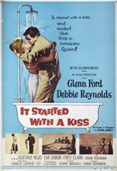 It Started with a Kiss (1959) Poster