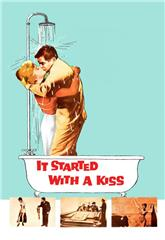 It Started with a Kiss (1959) bluray Poster