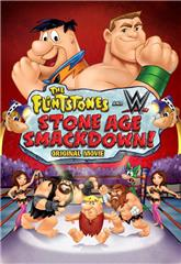 The Flintstones & WWE: Stone Age Smackdown (2015) 1080p bluray Poster