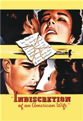 Indiscretion of an American Wife (1953) bluray Poster