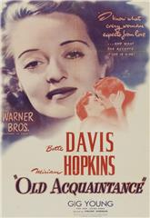 Old Acquaintance (1943) Poster