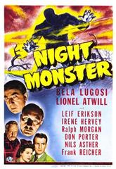 Night Monster (1942) Poster