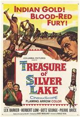 The Treasure of the Silver Lake (1962) Poster