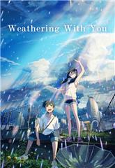 Weathering with You (2019) 4K Poster