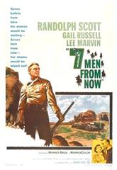 Seven Men from Now (1956) Poster