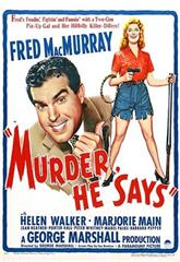 Murder, He Says (1945) 1080p Poster