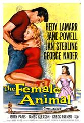 The Female Animal (1958) Poster