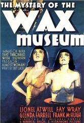 Mystery of the Wax Museum (1933) Poster