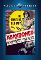Abandoned (1949) Poster