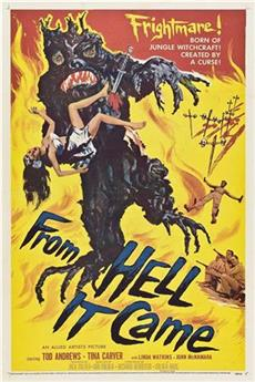 From Hell It Came (1957) 1080p Poster