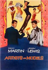 Artists and Models (1955) bluray Poster