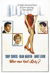 Who Was That Lady? (1960) Poster