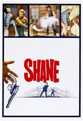 Shane (1953) 1080p bluray Poster
