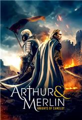 Arthur & Merlin: Knights of Camelot (2020) Poster