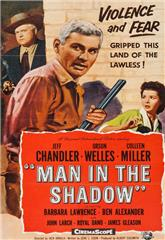 Man in the Shadow (1957) bluray Poster