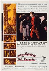 The Spirit of St. Louis (1957) web Poster