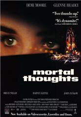 Mortal Thoughts (1991) web Poster